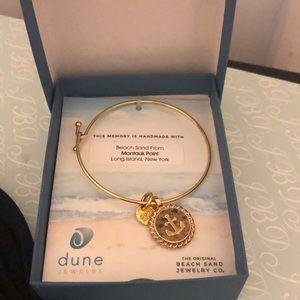 Dune jewelry Sand from Montauk Point bracelet